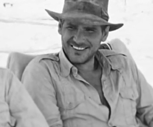 handsome, harrison ford, and Indiana Jones image