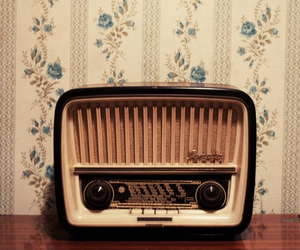old radio beautiful image