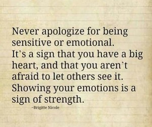 quote, emotions, and sensitive image