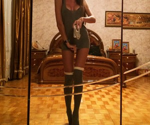girl, Hot, and legs image