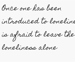 alone, quotes, and saying image