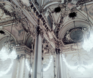 architecture, interior, and sparkling queen image