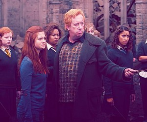 harry potter, deathly hallows, and ginny weasley image