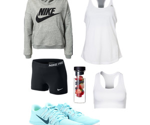 exercising, fitness, and Just Do It image