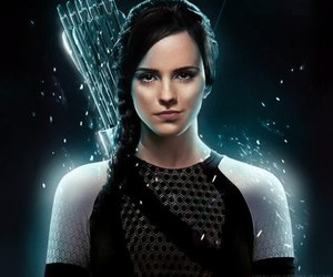 hunger games, emma watson, and harry potter image