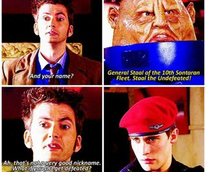 doctor who, stahl, and sontaran image