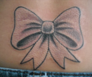 bow, pink, and bows image