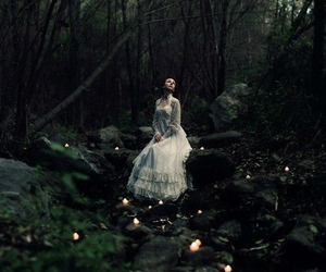 forest, girl, and fantasy image