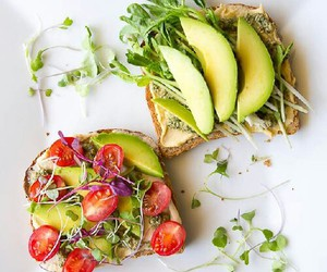 healthy, food, and avocado image