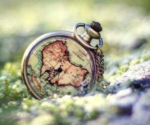australia, clock, and nature image