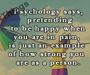 happy, strong, and pain image