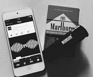arctic monkeys, music, and cigarette image