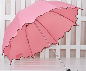 fancy, pink, and umbrella image
