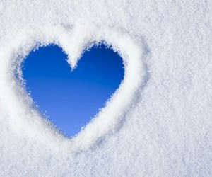 blue, sky, and love image