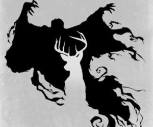 harry potter, patronus, and dementor image