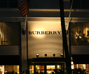 Burberry, store, and luxury image
