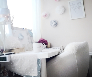 bedroom, girly, and love image