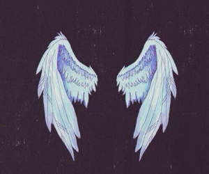 angel, patch, and fly image