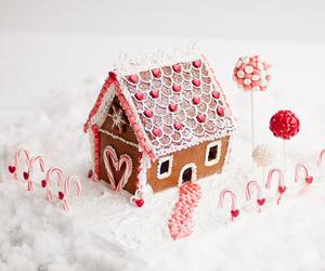 house, sweet, and christmas image