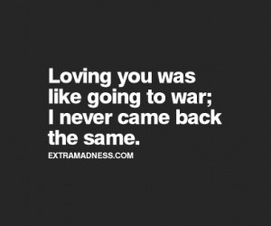 quote, love, and war image