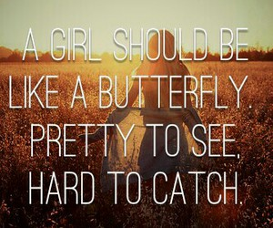 butterfly, dreams, and girls image