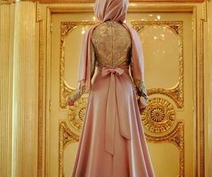 muslim, dress, and hijab image