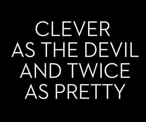 quotes, Devil, and pretty image