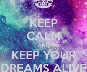dreams and galaxy image