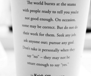 quote, starbucks, and life image