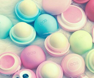 eos, lips, and pink image