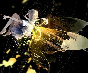 beautiful, butterfly, and vocaloid image