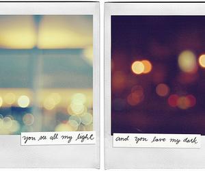 light, love, and dark image