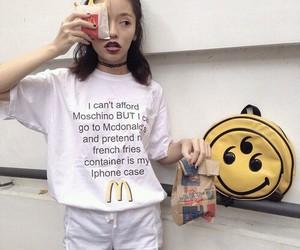 McDonalds, grunge, and Moschino image