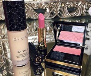 gucci, makeup, and lipstick image