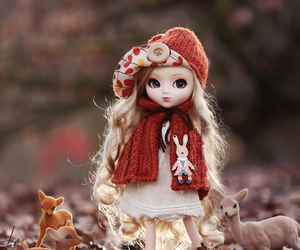 beauty, creative, and doll image