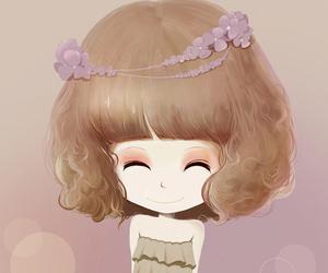 art, cute, and cartoon image