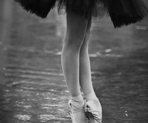 ballet, black and white, and beautiful image