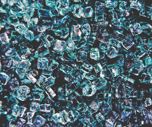 blue, ice, and grunge image
