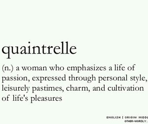 quotes, woman, and quaintrelle image
