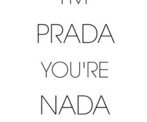 fashion, Prada, and quotes image