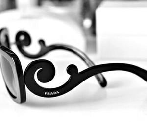Prada, sunglasses, and black image