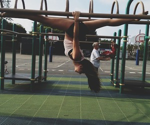 flexibility and gymnastics image