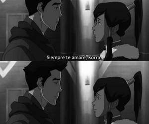amor, mako, and korra image