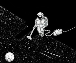 funny, galaxy, and space image