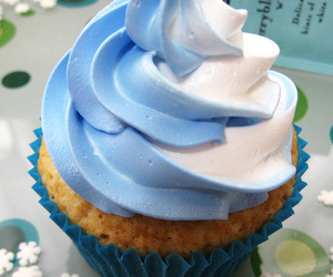 blue and cupcake image