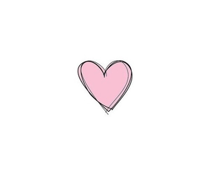 heart, pink, and transparent image