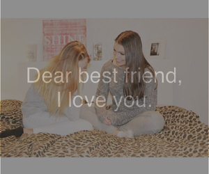 Best, dear, and friend image