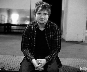 b&w, ed sheeran, and billboard image