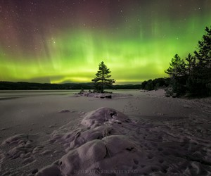 beautiful, nature, and northern lights image