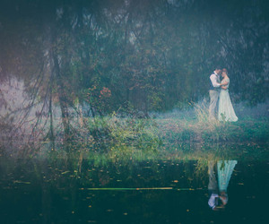 fairytale, magical, and wedding image